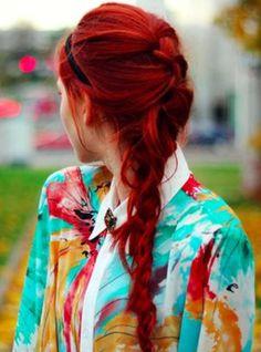 Red hair/ Cabelo vermelho