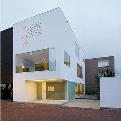 interesting exterior wall
