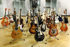 Eric Clapton guitar collection