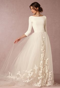 BHLDN. See more details about this dress from BHLDN  Stunning gown strikes a 03dee2f7368