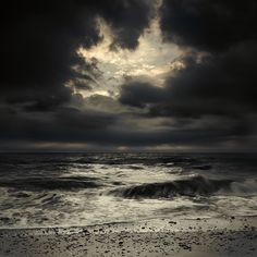 There's a haunting beauty that the sea holds. It draws me to it yet frightens me at the same time...