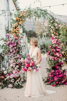 all the feels with this ombre floral wedding inspiration Floral Arch Inspiration for You - CowlesNCP ~ Make your Wedding Ideas Floral Wedding Decorations, Diy Wedding Flowers, Wedding Colors, Wedding Bouquets, Wedding Ideas, Flower Diy, Wedding Shoes, Diy Flowers, Wedding Flower Backdrop