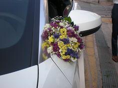 Στολισμός  αυτοκινήτου - Γάμος στο  Λυκαβητό