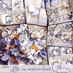 Collections :: L :: Life in Watercolors by Feli Designs :: Life in Watercolors - Bundle (PU/S4H) by Feli Designs