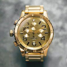 (1) Fancy - Nixon 48-20 Chrono Gold