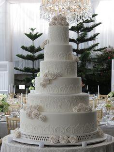 5 Tiers - Le Novelle Cake | Jakarta & Bali Wedding Cake