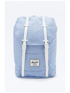 Herschel Supply co. Retreat Chambray Backpack in Blue http://sellektor.com/plecaki/strona-11?order=newest