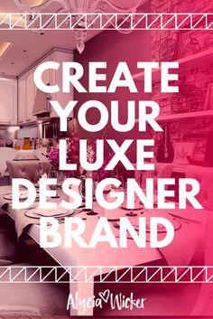 Create your interior design brand