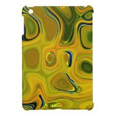 yellow pebbles case for the iPad mini