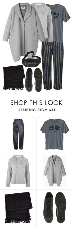 """""""24.10.2017"""" by klorikon00 on Polyvore featuring мода, Topshop, MM6 Maison Margiela, Frette и Converse"""