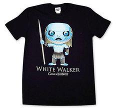 Game of Thrones T-Shirt White Walker Cartoon. Hier bei www.closeup.de