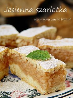 Delicious Cake Recipes, Yummy Cakes, Sweet Recipes, Dessert Recipes, Yummy Food, Polish Desserts, Polish Recipes, Polish Food, Sweet Cakes
