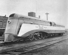 """New York Central """"The Rexall Train"""" (1936)."""