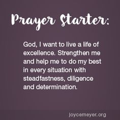 Do Your Best! Prayer For Discernment, Prayer Scriptures, Bible Prayers, Faith Prayer, God Prayer, Joyce Meyer Quotes, Relationship Prayer, Personal Prayer, Special Prayers