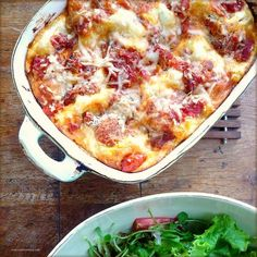 Because a nice home-made lasagna is always amazing