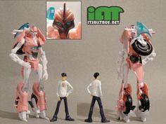 Vault Review: Transformers Prime NYCC Exc. Bumblebee & Arcee « It'sAllTrue.Net