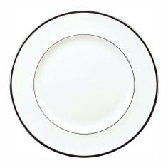 Wedgwood Sterling 10-3/4-Inch Dinner Plate by Wedgwood. $37.62. 10-3/4-Inch dinner plate. Fine bone china. Dishwasher safe. Design: sterling. Classical shapes and modern sensibilities characterize the stylish, yet practical Sterling Collection by Wedgwood. Timeless elegance guarantees that this will be a dinnerware pattern that will look crisp and contemporary for many years to come. This Dinner Plate is rendered in crisp whiteware and accented by brilliant platinum bands; ...