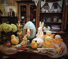 Our Bethany Lowe collection for Easter at The Nest Egg