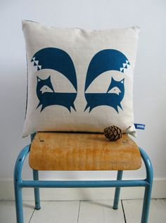 Lovely #fox #cushion for my #home