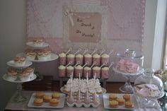 Girly dessert table