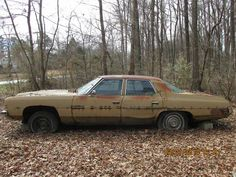 1972 Chevrolet Impala sedan with 400-2bbl engine.  I was tempted to buy this, get it running good, and drive it exactly as-is.  I love cars like this!