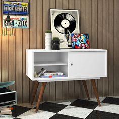 Que tal um mini #rack para você colocar em qualquer cômodo da #casa?! #quarto #sala #cozinha ou #lavanderia você que escolhe! #decoração #design #madeiramadeira