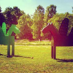 Warsaw horses ;-)