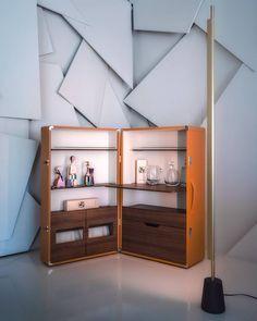 Flexibilidade e utilidade sem nunca esquecer a sofisticação das coisas simples #showroommobilada. Isidoro da Poltrona Frau #showroom #poltronafrau
