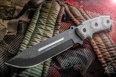 TOPS Steel Eagle 107E fixed blade knife