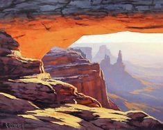 Unique Paintings, Paintings For Sale, Oil Paintings, Amazing Paintings, Landscape Art, Landscape Paintings, Western Landscape, Impressionist Landscape, Landscape Drawings