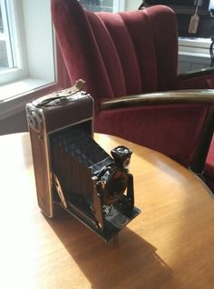 Agfa camera from 1915 ..  #store #antique #camera #agfa #forsale #rust #norway #pickers #classic #retro #vintage