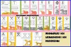 Patrones para Crochet: Como Leer o Interpretar Simbolos Crochet Español