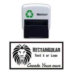 Max Stamp Rectangular Self Inking