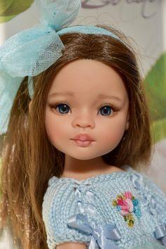"OOAK Paola Reina Nathalie 13""- 33cm vinile bambola ridipinta da LauraCortiDolls"