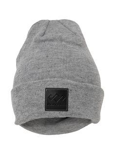 SheShreds Crown Grey Knit Hat