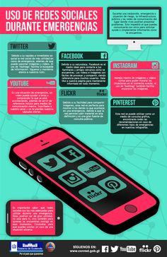 Uso de Redes Sociales durante emergencias