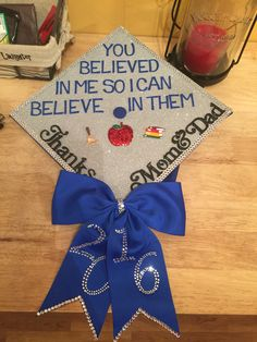 Graduation cap I decorated for my graduation from ISU on May 7 so happy with the way it turned out!