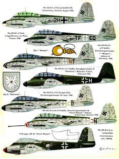 Messerschmitt Me-210/410.