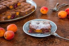 Apricot Cherry Cake Apricot Season, Apricot Recipes, Mother Recipe, Basic Cake, Cherry Cake, Alps, Pudding, Breakfast, Desserts
