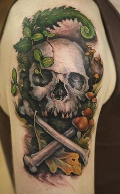 skull and crossbones tattoo