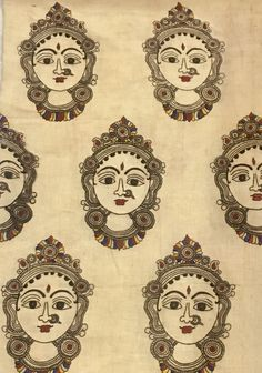 Kalamkari Fabric, Kalamkari Painting, Madhubani Art, Madhubani Painting, Dress Painting, Fabric Painting, Phad Painting, Kerala Mural Painting, Rock Painting Patterns