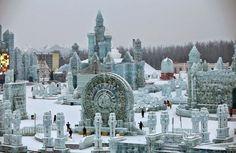 design-dautore.com: The 2015 Harbin Ice and Snow Festival