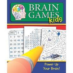 Brain Games for Kids #1 (Brain Games Kids) [Spiral-Bound] Editors of Publications International (Editor)