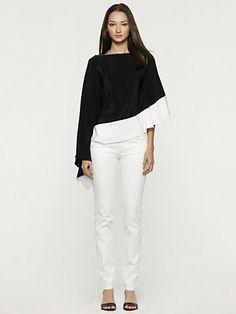 Silk Krista Top - Long-Sleeve  Shirts - RalphLauren.com