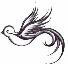 simple sparrow designs - Google Search