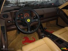 Ferrari Testarossa Interior | Tan Interior 1989 Ferrari Testarossa Standard Testarossa Model Photo ...