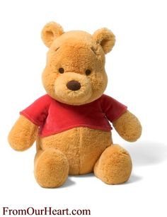 Winnie The Pooh 12 inch Plush Stuffed Disney Character by Gund. The classic Winnie the Pooh Walt Disney character loved by young and oldand old is part of Gund's Winnie The Pooh collection. Also available in 7 and 14 inches. $21.25