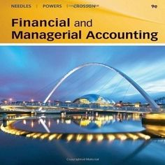 81 Free Test Bank for Financial and Managerial Accounting 9th Edition Needles multiple choice questions, which are not enough for your practice but it is the first step in order to help you add more confidence with other sample tests at test bank.