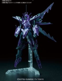 HGBF 1/144 TRANSIENT GUNDAM GLACIER: Just Added No.4 Big Size Official Images, Info release http://www.gunjap.net/site/?p=309969