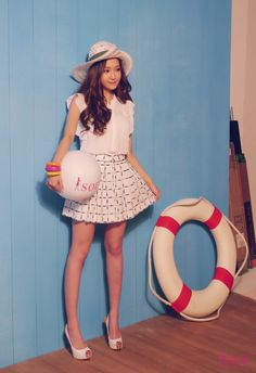 Girls Generation(SNSD) Jessica Spring Look During Photo Shoot for 'Soup' http://www.kpopstarz.com/tags/girls-generation